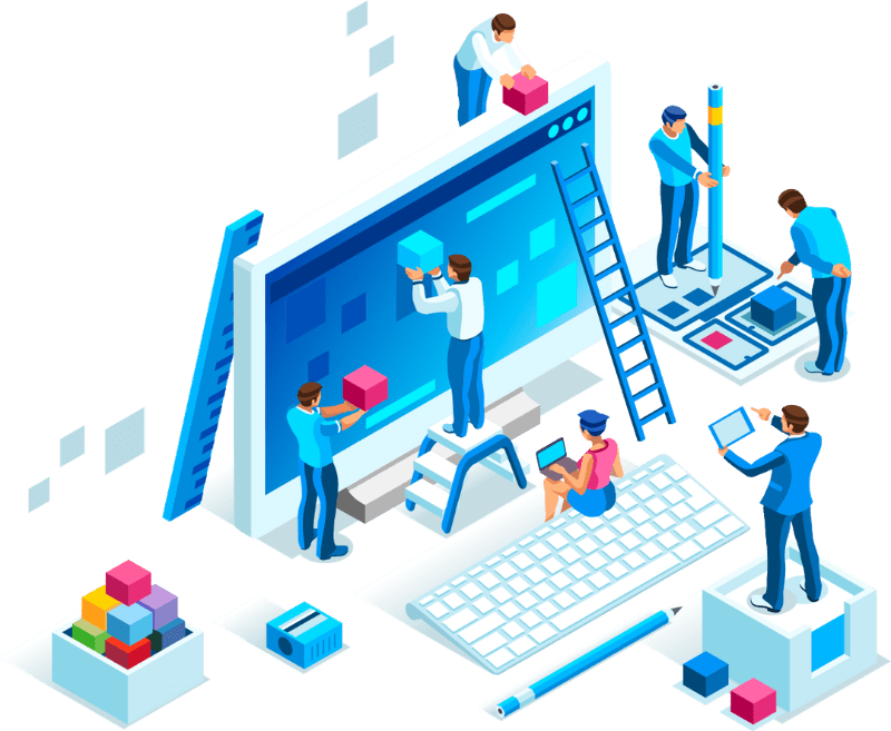 creacion de paginas web a medida