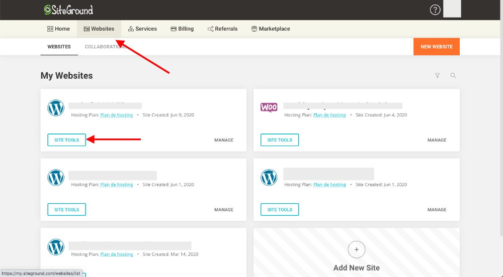 configurar WordPress